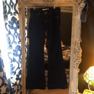 J brand bootcut/flare dressy jeans